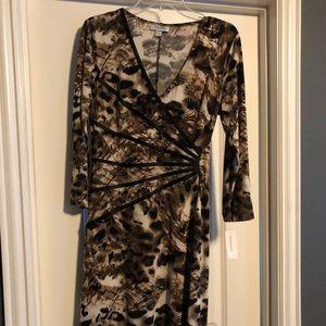 Dress Barn Cheetah Print Dress
